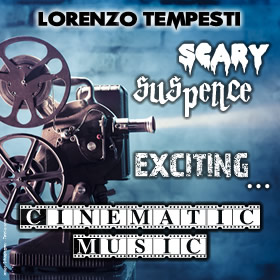 Scary, suspence, exciting...Cinematic music