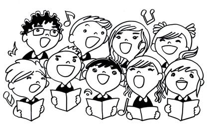 Immagine Singing bambini di Tonny Watanebe
